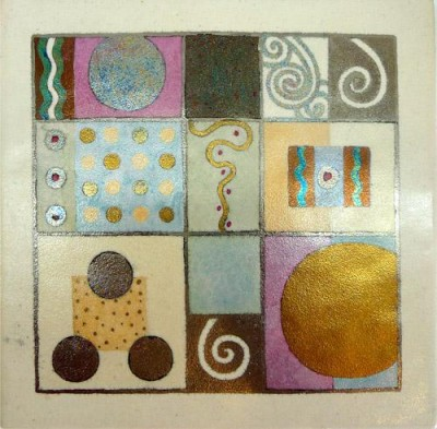 Tile / coaster 191 by Catherine Rich