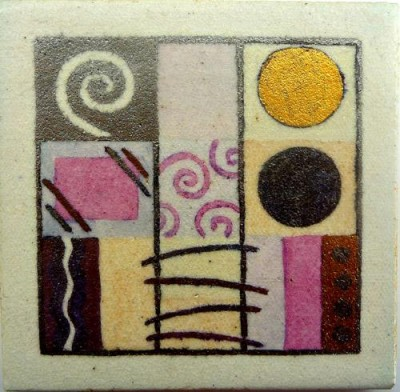 Tile / Coaster by Catherine Rich