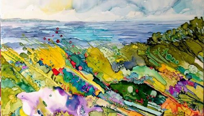 Colour in Landscape 50 by Pauline Beynon SOLD
